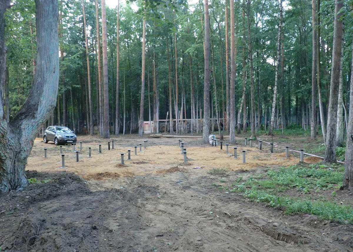 Строительство дома из сип панелей 92 м2, г. Черноголовка, Московская область.